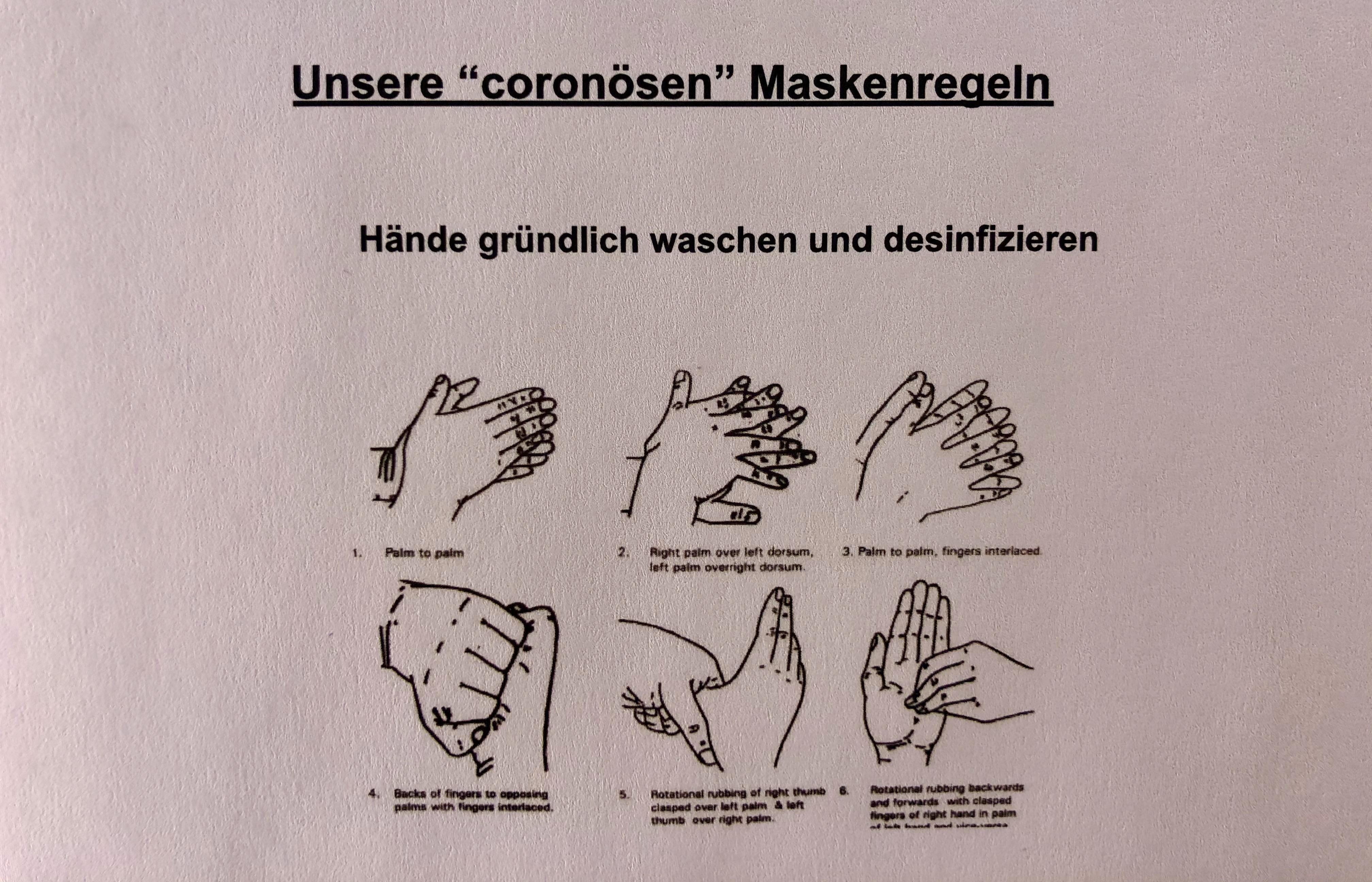 Maskenregeln